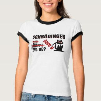 Dillema de Schrodinger Playera