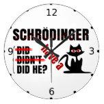 Dillema de Schrodinger Relojes De Pared