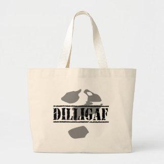 DILLIGAF? Does it look like I give a .... Jumbo Tote Bag