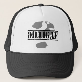 DILLIGAF? Does it look like I give a .... Trucker Hat