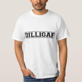 """DILLIGAF – Funny rude """"Do I look like I Give A"""" Tshirts"""