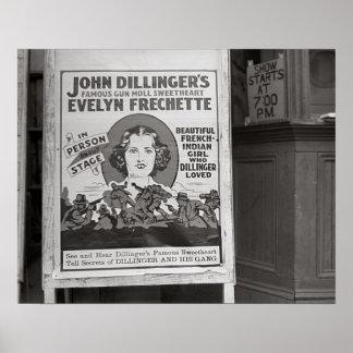 Dillinger's Gun Moll Sweetheart, 1938 Posters