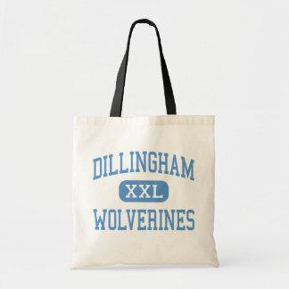 Dillingham - carcayúes - alto - Dillingham Alaska Bolsas Lienzo