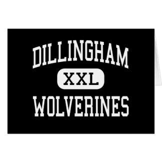 Dillingham - carcayúes - alto - Dillingham Alaska Tarjeta