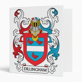 Dillingham Family Crest Binder