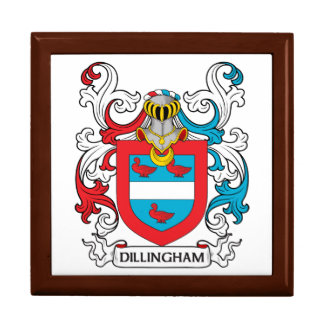 Dillingham Family Crest Gift Box