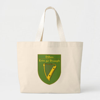 Dillon 1798 Flag Shield Large Tote Bag