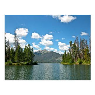 Dillon Reservoir by Canoe Postcard