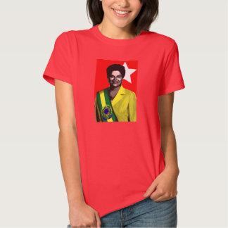 Dilma Presidente el Brasil 2014 Eleções Playeras
