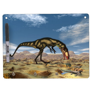 Dilong dinosaur - 3D render Dry Erase Board With Keychain Holder