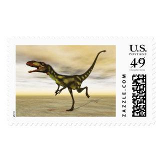 Dilong dinosaur - 3D render Postage