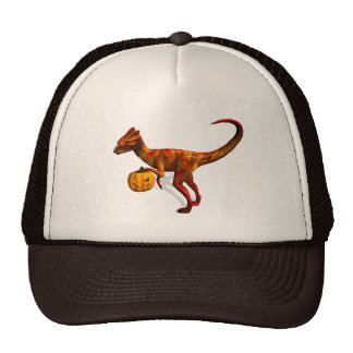 Dilophosaurus de Halloween Gorra