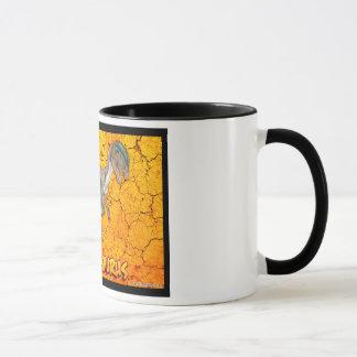 Dilophosaurus mug