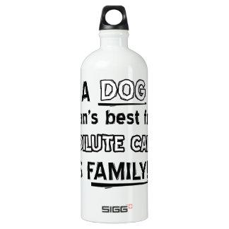 dilute calico cat design aluminum water bottle