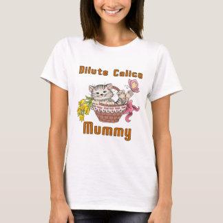 Dilute Calico Cat Mom T-Shirt