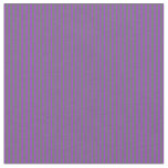 [ Thumbnail: Dim Gray and Dark Orchid Stripes Pattern Fabric ]