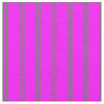 [ Thumbnail: Dim Gray and Fuchsia Colored Lines Fabric ]