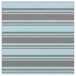[ Thumbnail: Dim Gray and Light Blue Colored Pattern Fabric ]