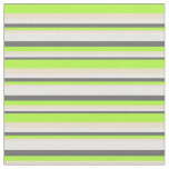 [ Thumbnail: Dim Gray, White, Tan, and Light Green Colored Fabric ]