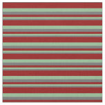 [ Thumbnail: Dim Grey, Dark Sea Green, and Dark Red Colored Fabric ]
