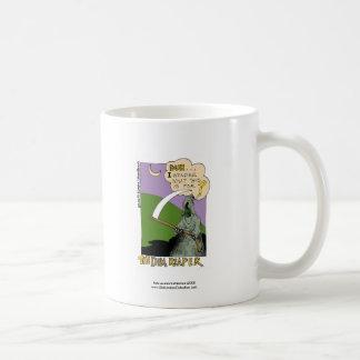 Dim Reaper Halloween Funny Cartoon Coffee Mug