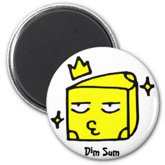 Dim Sum Cheese Magnet