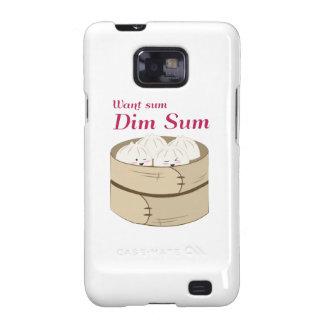 Dim Sum Galaxy S2 Carcasas