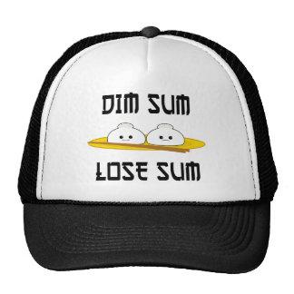 Dim Sum Lose Sum Trucker Hats