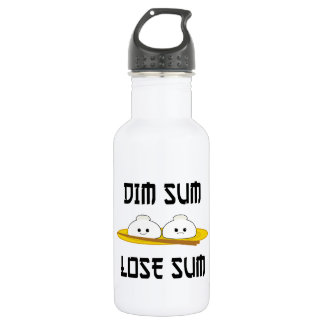 Dim Sum Lose Sum Water Bottle