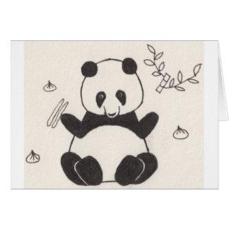Dim Sum Panda Card