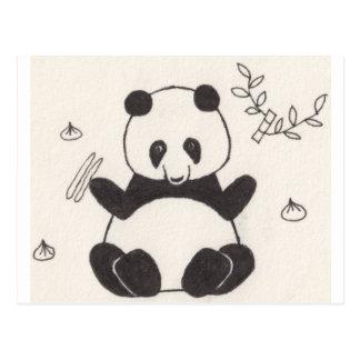 Dim Sum Panda Postcard