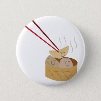 Dim Sum Pinback Button