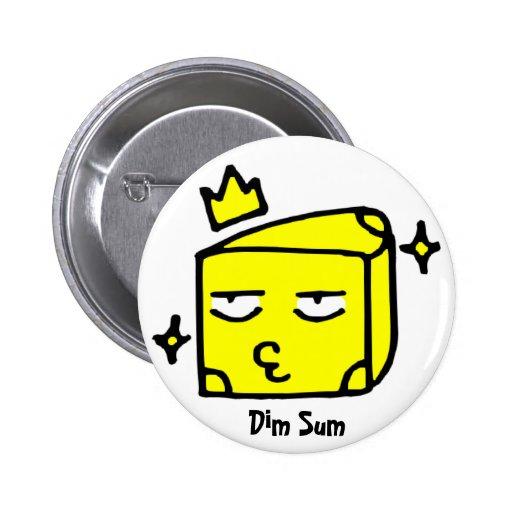 Dim Sum, queso Pin Redondo 5 Cm