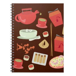 Dim Sum Yum Notebook
