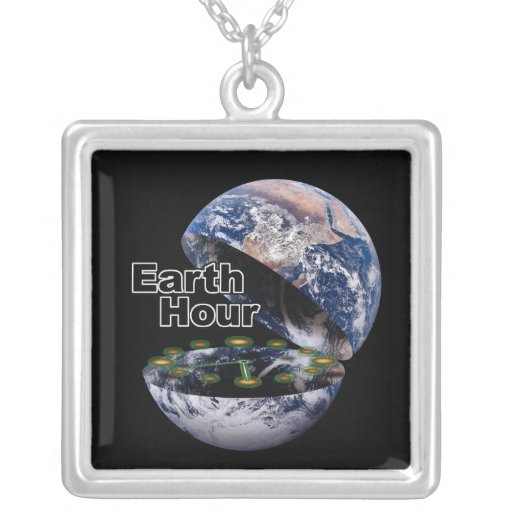 Dim The Lights For Earth Hour (Earth Open) Pendant