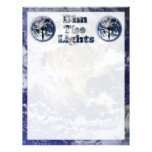 Dim The Lights Text Image w/Clocks Full Color Flyer