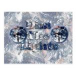 Dim The Lights Text Image w/Clocks Postcards