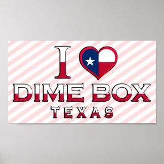 Dime Box, Texas Posters