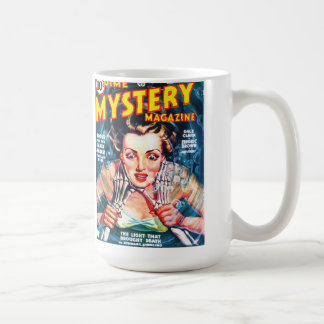 DIME MYSTERY Cool Vintage Pulp Magazine Cover Art Coffee Mug