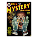 Dime Mystery Novel -- Scary Hands Poster