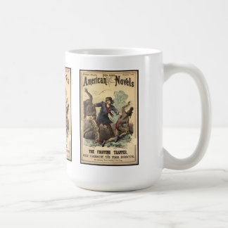Dime Novel Kit Carson Coffee Mug