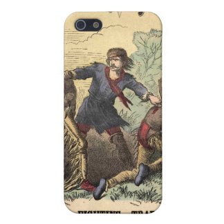Dime Novel Kit Carson iPhone SE/5/5s Cover