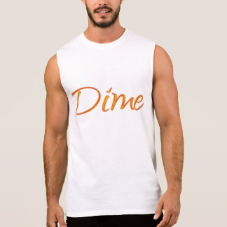 Dime Sleeveless Shirt