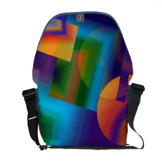 Dimension 7 Rickshaw Messenger Bag Courier Bags