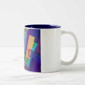 Dimension-7 Two-Tone Coffee Mug