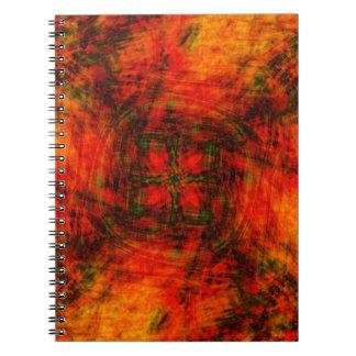 Dimensión al infierno libro de apuntes con espiral