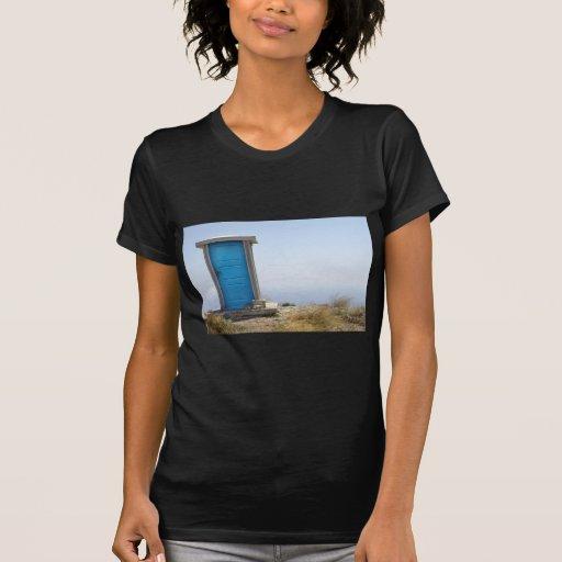 Dimensión azul camisetas