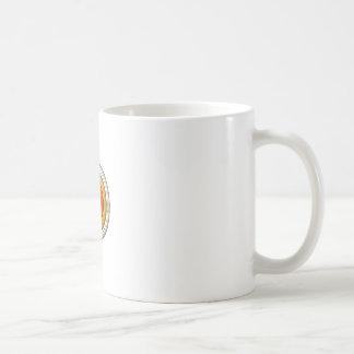 Dimension circle coffee mug