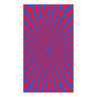 Dimensión de la paz - tarjeta de visita