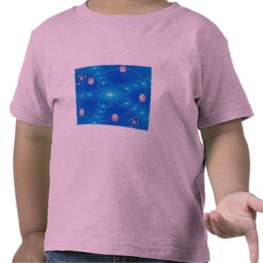 Dimensión fluorescente de los brazos camiseta